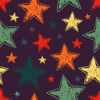 Ręczne gwiazdkowych szwu wzór
