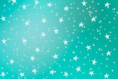 Ręcznie rysowane gwiazd na tle wodnego