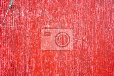 red grunge texture płot