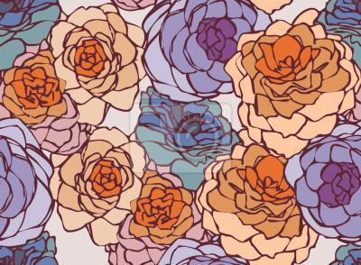 Tapeta Rose Art Nouveau
