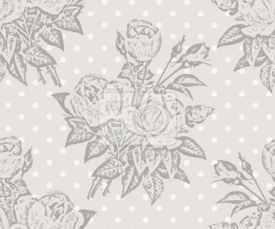 Tapeta Rose Cavalier Szary