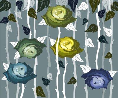 Tapeta Róże