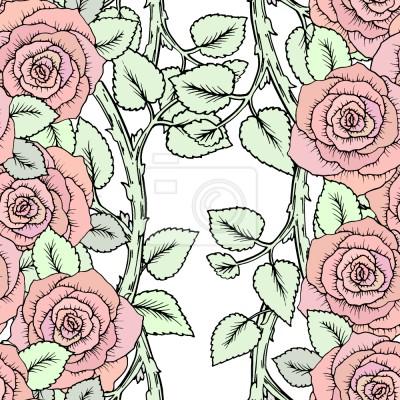 Tapeta Róże Na Oddziałach
