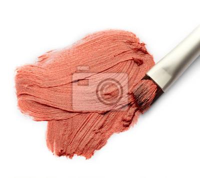 Tapeta Rozmaz Lipstick i szczotki