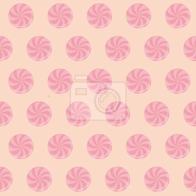 Różowy cukierek