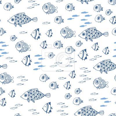 Tapeta Ryby Morza Śródziemnego