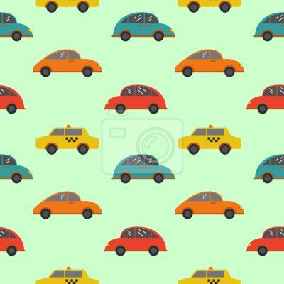 Tapeta samochody Cartoon