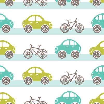 Tapeta samochody wzór