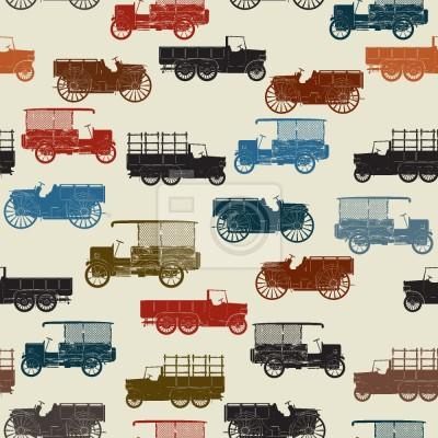 Tapeta Samochody zabytkowe