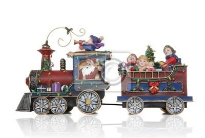 Santa Boże Narodzenie Train