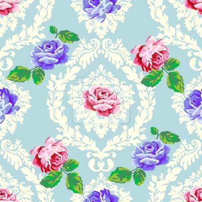 Tapeta Shabby chic Roses