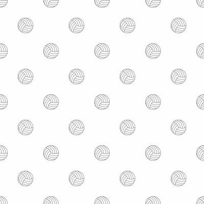 Tapeta Siatkówka tło z linii ikona. Liniowy wzór wektorowy