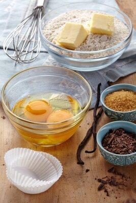 Składniki ciasta