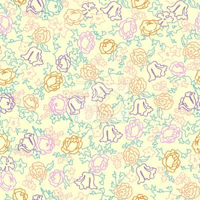 Tapeta śliczne Kwiaty