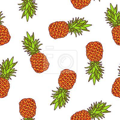 Tapeta słodki ananas