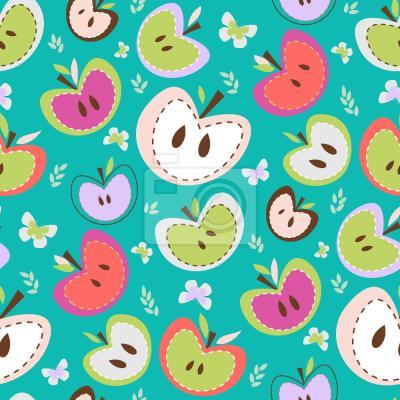 Tapeta Słodkie Jabłka