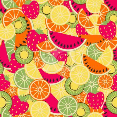 Tapeta Smaczne owoce lato