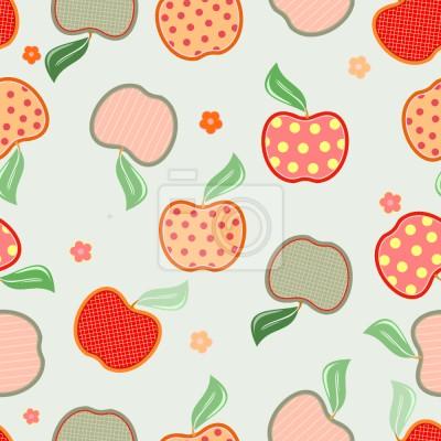 Smaczne Patchwork Jabłko