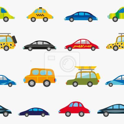 Tapeta Śmieszne samochody