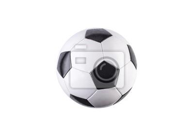 Tapeta Soccer ball isolated on white background