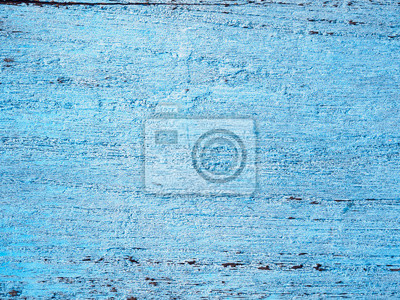 Tapeta Stary niebieski malowane drewno drewna tekstury