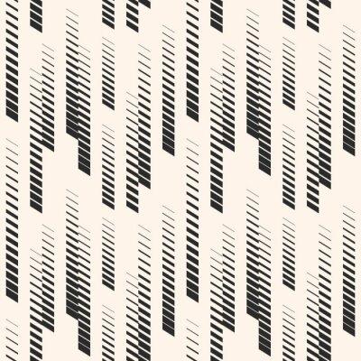 Tapeta Streszczenie graficzny wzór z linii pionowej półtonów, tory, paski. Wzór sportowy. Wzór miejski