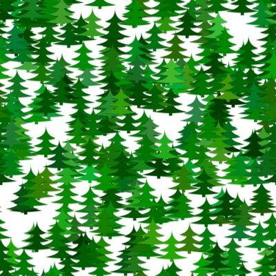 Tapeta Streszczenie losowe tło wzór drzewa sosnowego - wektor Boże Narodzenie wakacje dekoracja projekt graficzny