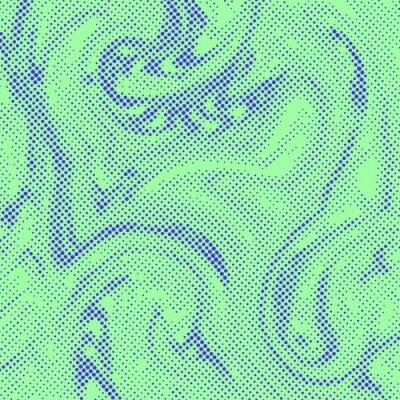 Tapeta Streszczenie półtonów pop sztuki komiks stylu ciecz tekstury szablonu