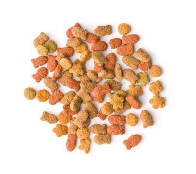 Tapeta Sucha karma dla zwierząt domowych.