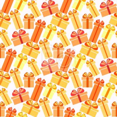 Tapeta Sunny Gift Boxes