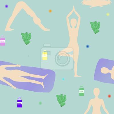 Tapeta Sunrise Yoga