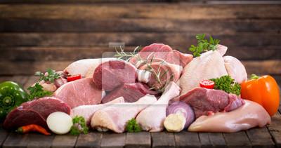 Tapeta Surowe mięso