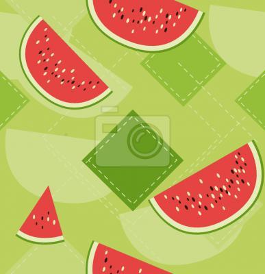 Tapeta świeże arbuzy