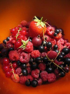 świeże letnie owoce