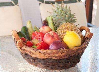 świeże owoce i warzywa, lato