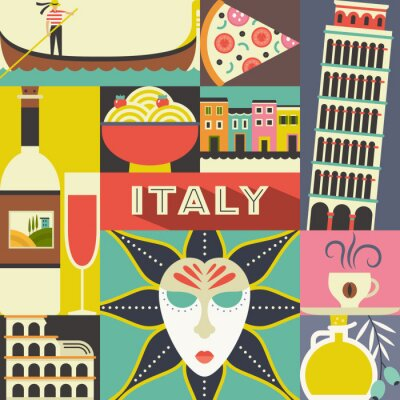 Tapeta symbole włoski