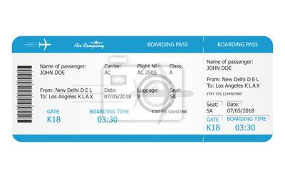 Tapeta Szablon Biletu Karnetu Bilet Na Samolot Rezerwacja Online