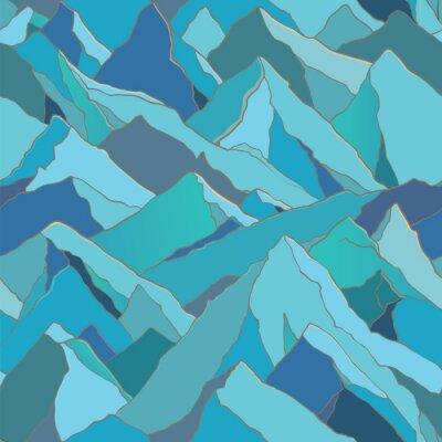 Tapeta szwu z gór