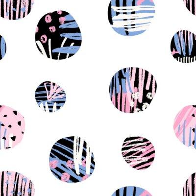 Tapeta Teksturowane wzór Circles