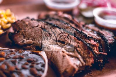 Tapeta Texas Style BBQ Smoked Beef Brisket