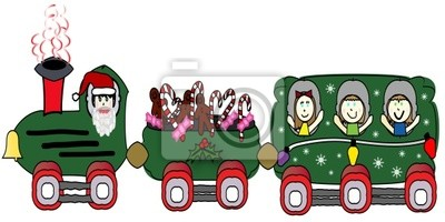 Train świąteczne dla dzieci