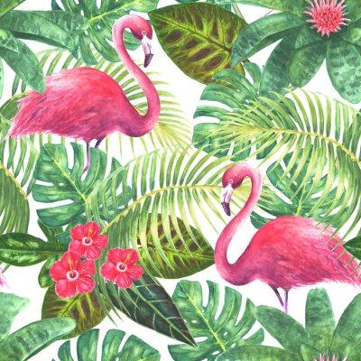 Tapeta Tropikalny egzotyczny wzór