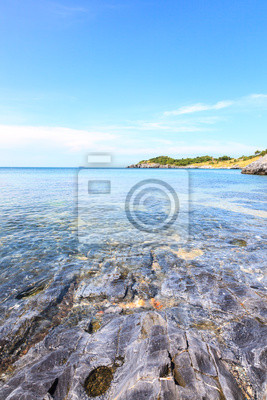 Tropikalny widok na morze