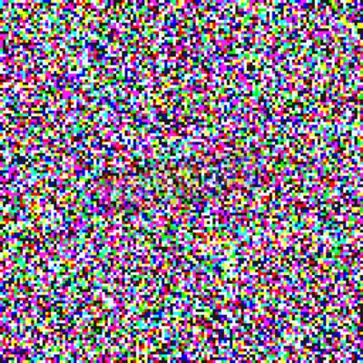 Tapeta TV pixel noise of analog channel grain screen seamless background. Vector glitch effect of video snow interference or abstract vaporwave background of color pixel mosaic distortion acid color glitch