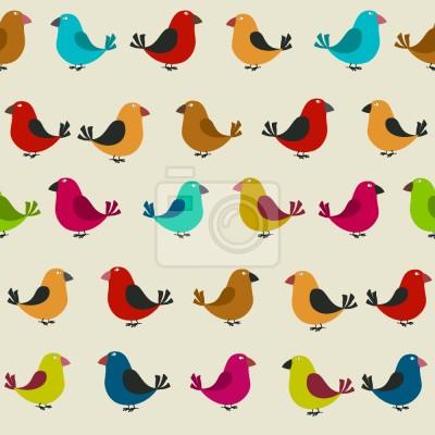 Tapeta Tweeting Ptaki