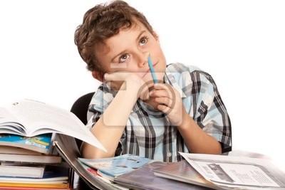 Uczeń niechętnie odrabianiu lekcji