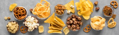 Tapeta Unhealthy Snacks