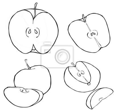 Uroczy ogród - Plastry jabłek 2