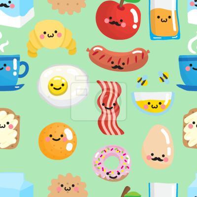 Tapeta Uśmiechnięte śniadanie