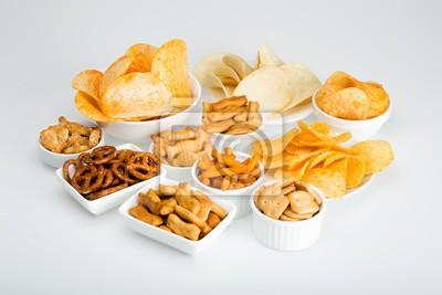 Tapeta variety of snacks